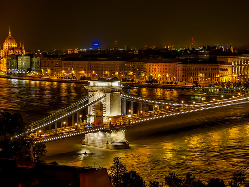 Budapest Romantic Getaway in Europe for Honeymoon