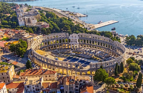 Places to Visit in Pula Croatia