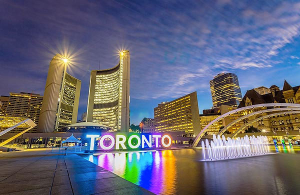 Toronto Weekend Getaway for Couple