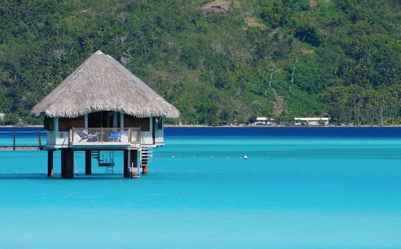 Bora Bora is one of the most beautiful Islands in the world