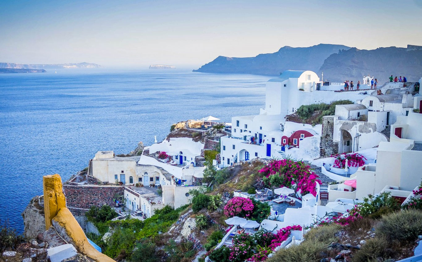 Santorini is one of the most beautiful Islands in the world