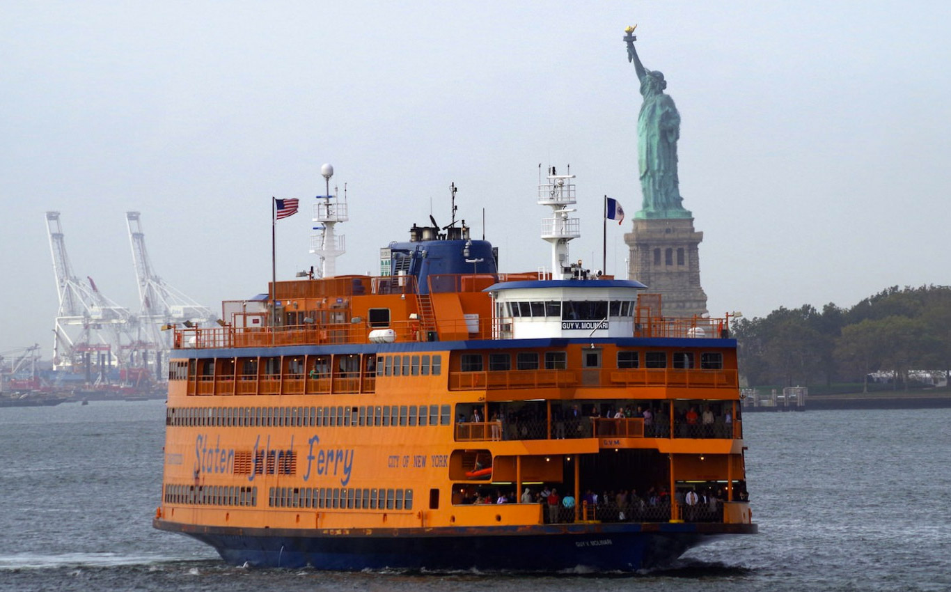 Take a ferry to Staten Island in NYC