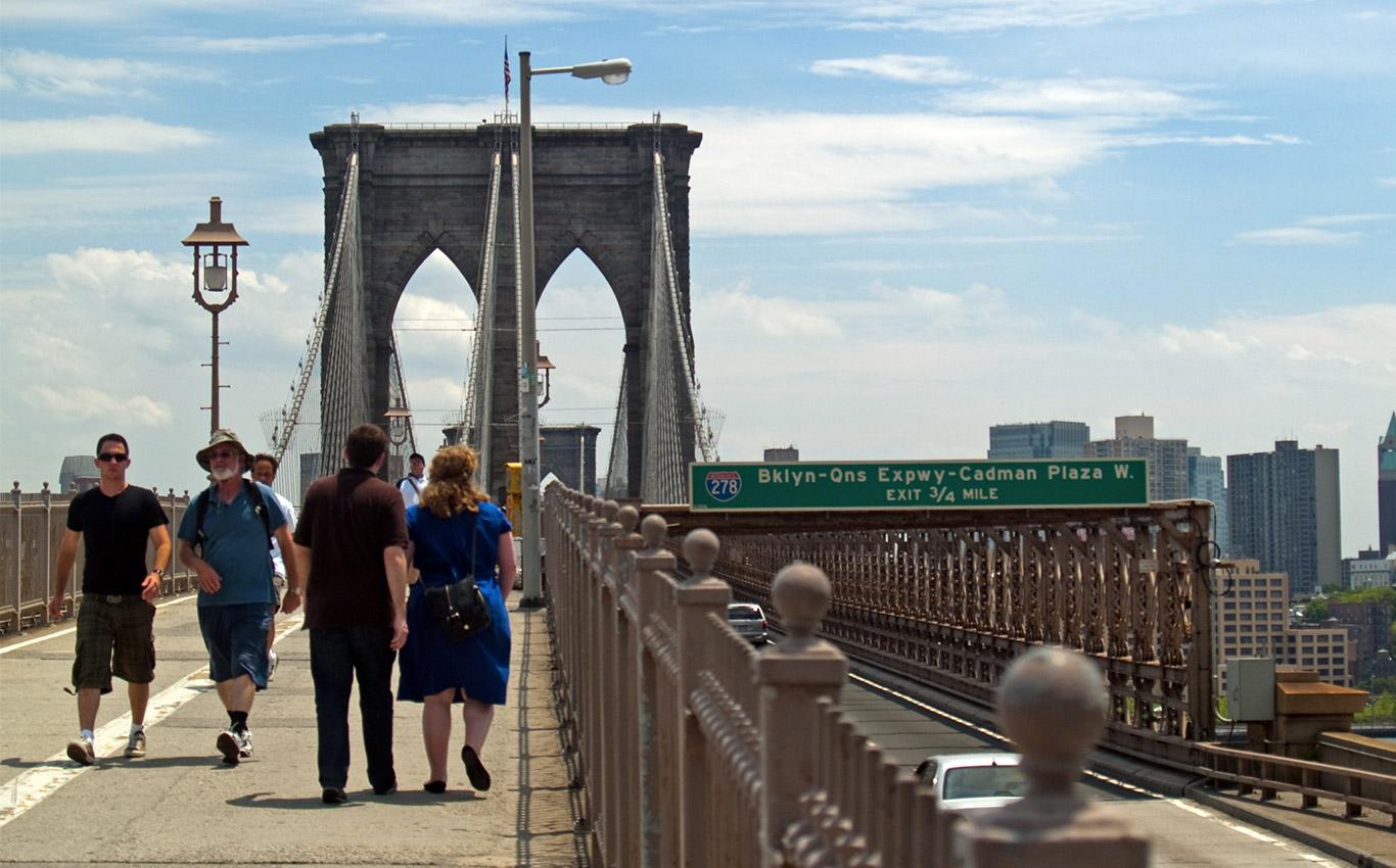 Walk the Brooklyn Bridge in NYC