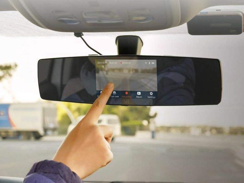 YI Mirror Dash Cam