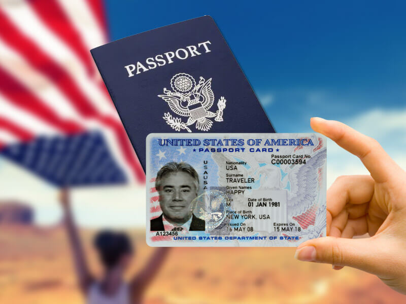 How long to get s passport card