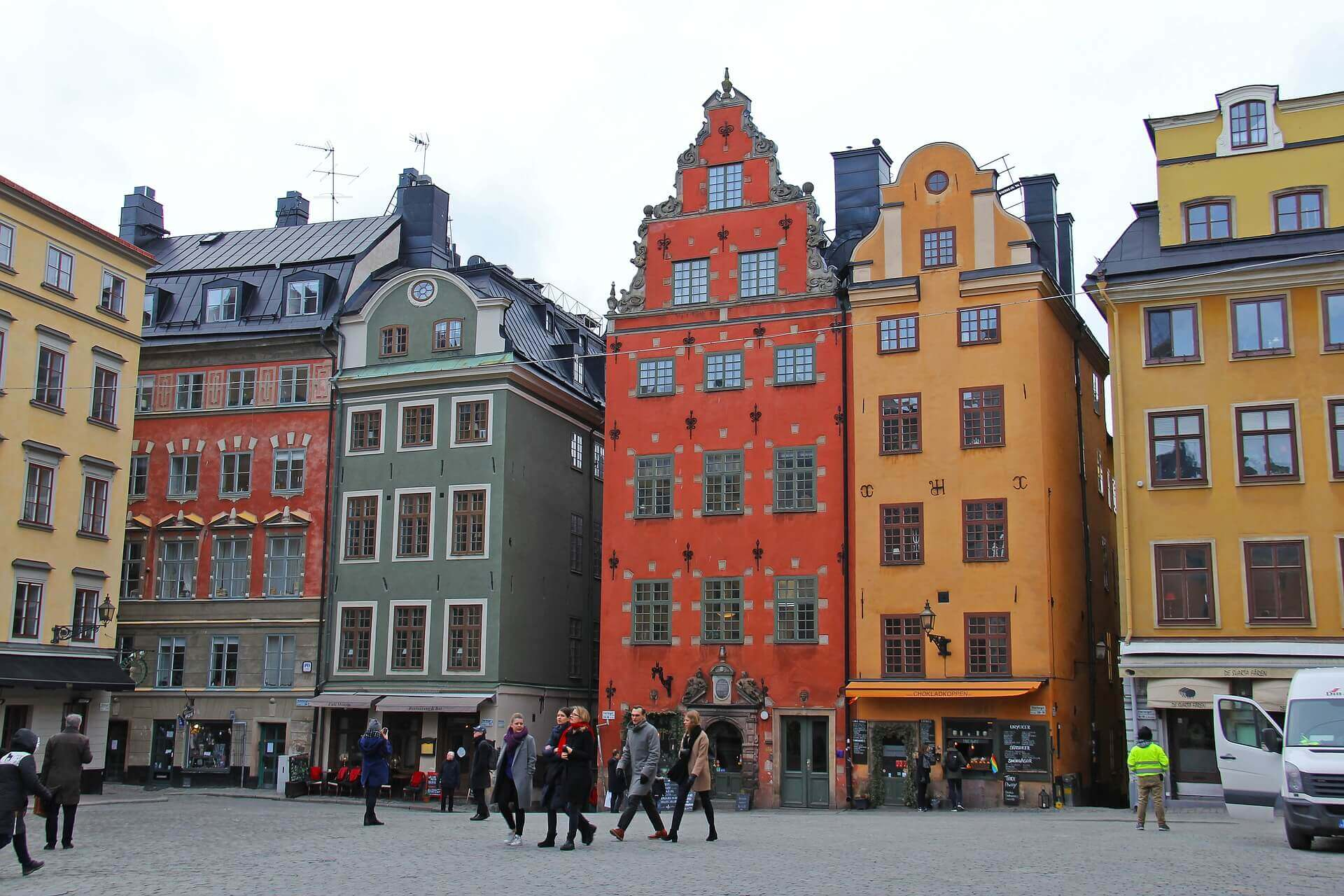 Gamla Stan and Stockholm, Sweden