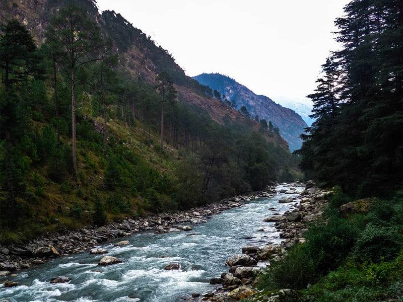 Kheerganga peak, Kasol