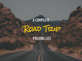 A Complete Road Trip Packing List