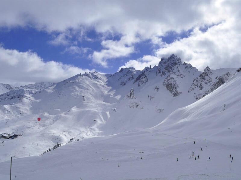 Courchevel Ski Resort, France