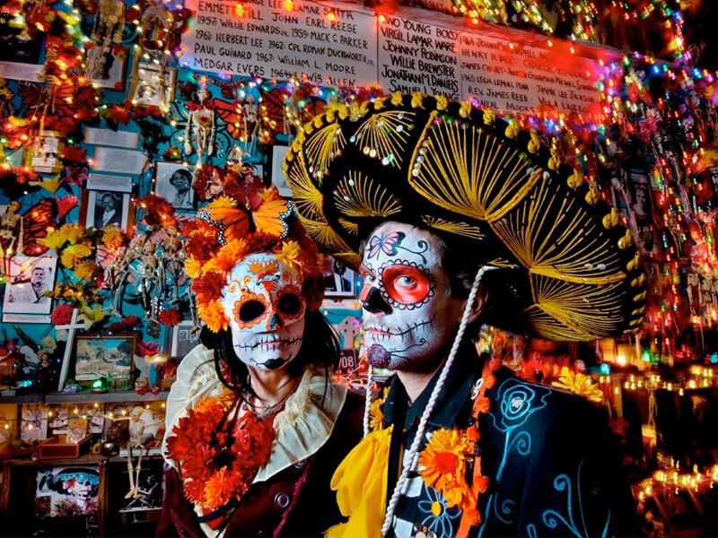 Dios De la Muertos Festival in Mexico