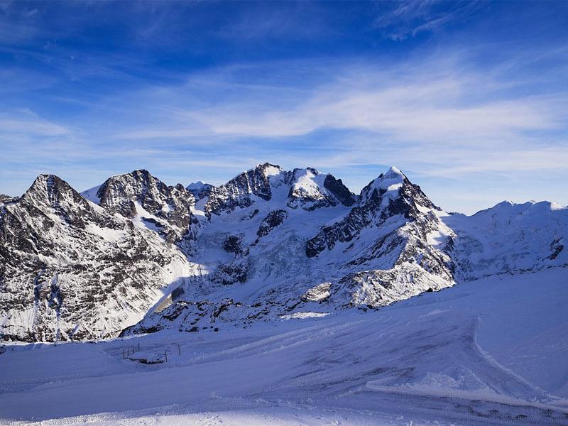 Saint Moritz Ski Resort, Switzerland