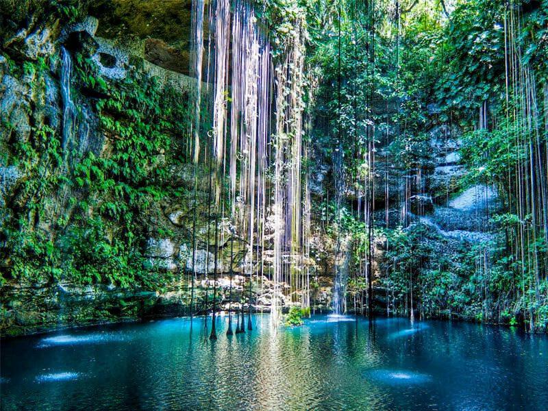 Yucatan Peninsula Cenotes in Maxico