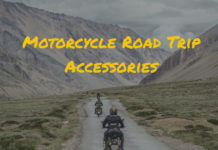 12 essential motorcycle road trip accessories