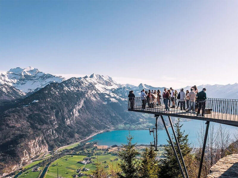 Immerse in the Views of Interlaken from Harder Kulm