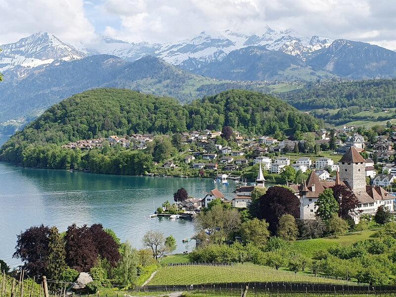 Mystic Charm of Spiez in Interlaken, Switzerland