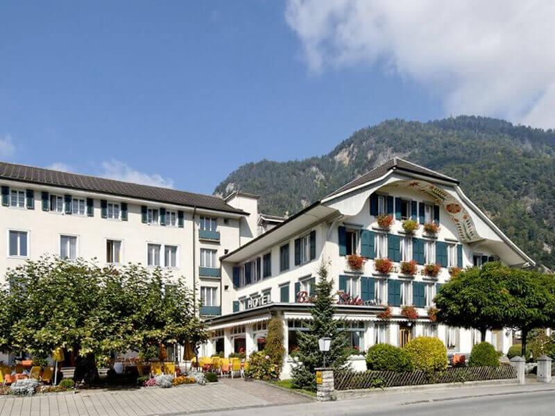 The Hotel Beau Site in Interlaken, Switzerland