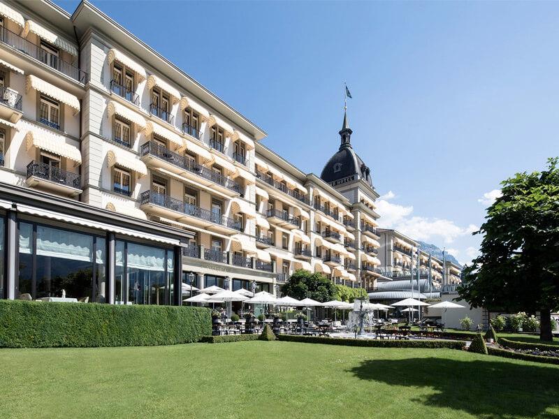 Victoria Jungfrau Grand Hotel & Spa in Interlaken, Switzerland