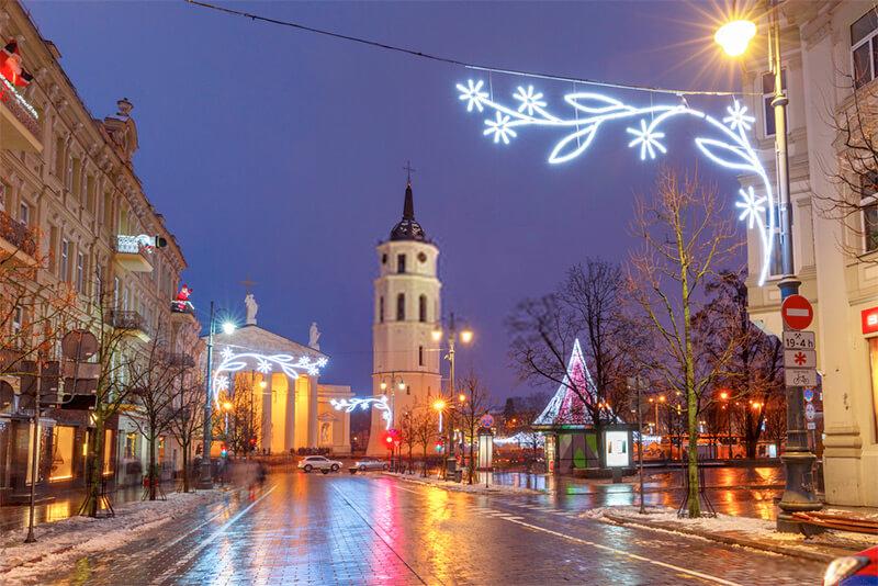Christmas Vilnius, Lithuania
