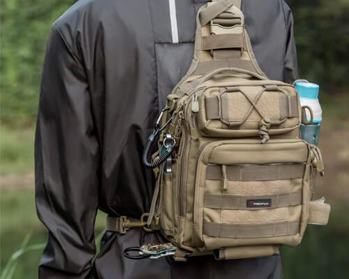 Piscifun Fishing Tackle Storage Bag Outdoor Shoulder Backpack