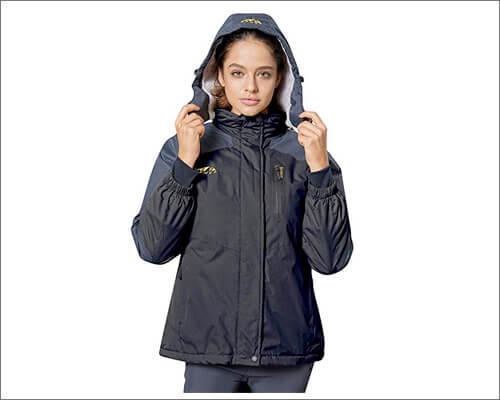 Spmor Women's Waterproof Ski Jacket