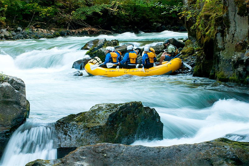 White Water Rafting in Vail Colorado