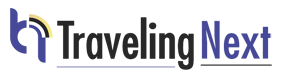 TravelingNext Logo - A Travel Blog