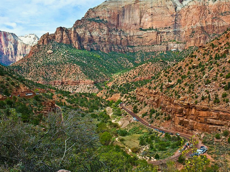 Zion Mount Carmel Canyon Scenic Drive, Zion National Park, Utah