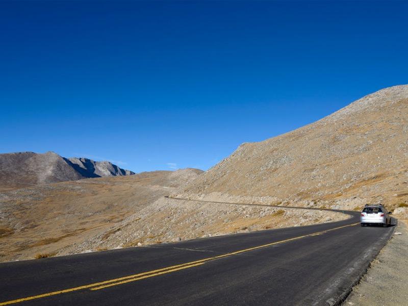 Mount Evans Scenic Byway in Colorado