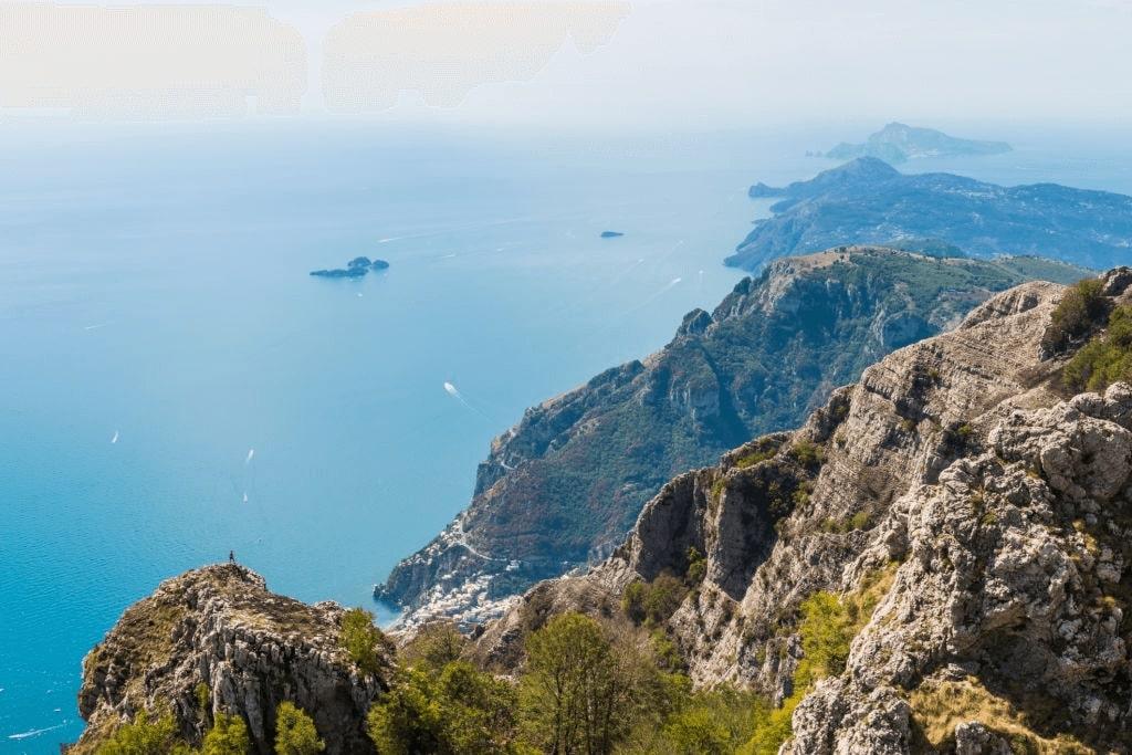 Amalfi coast hiking, Italy