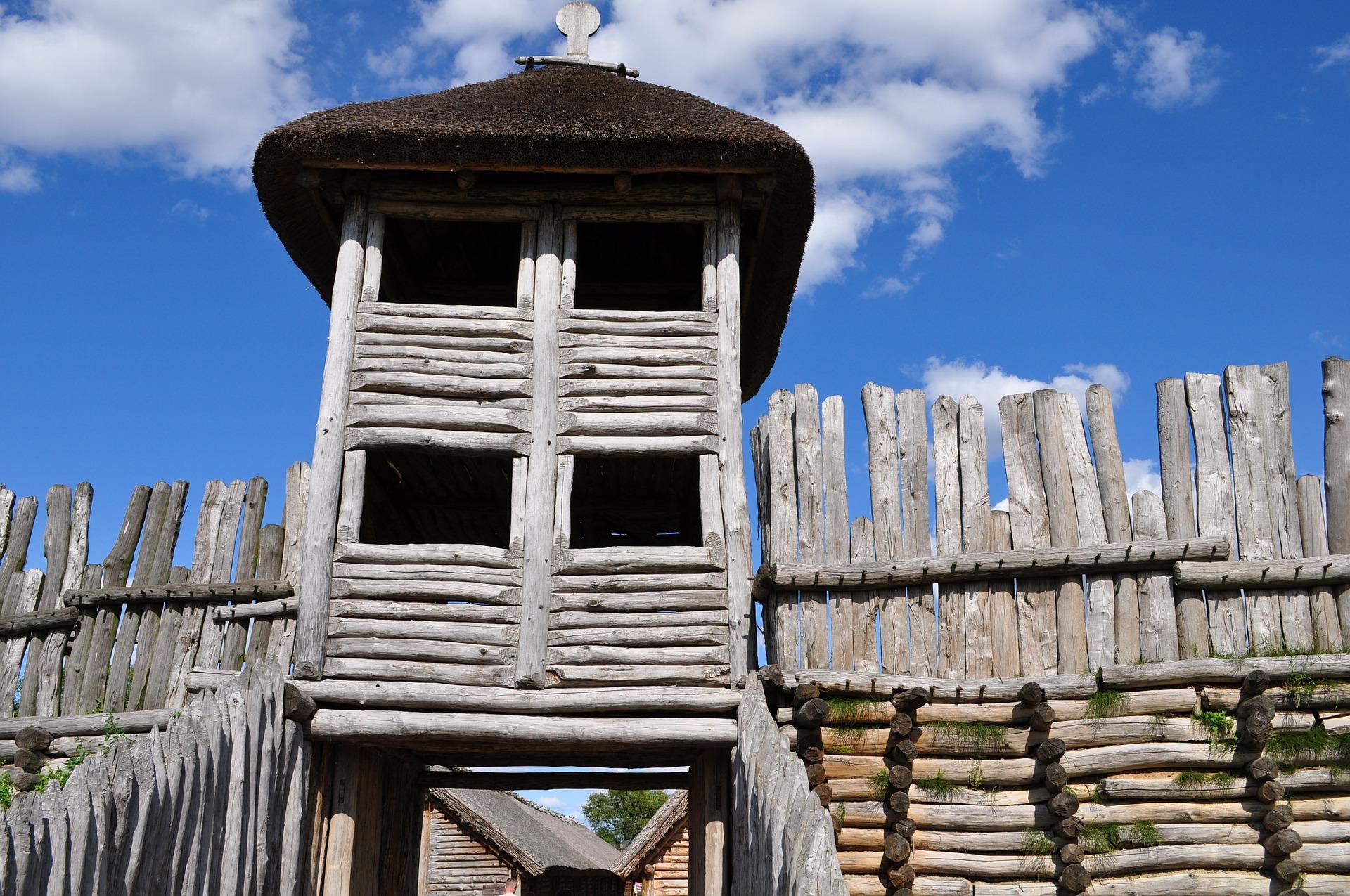 Biskupin Bronze Age Site Visit In Poland