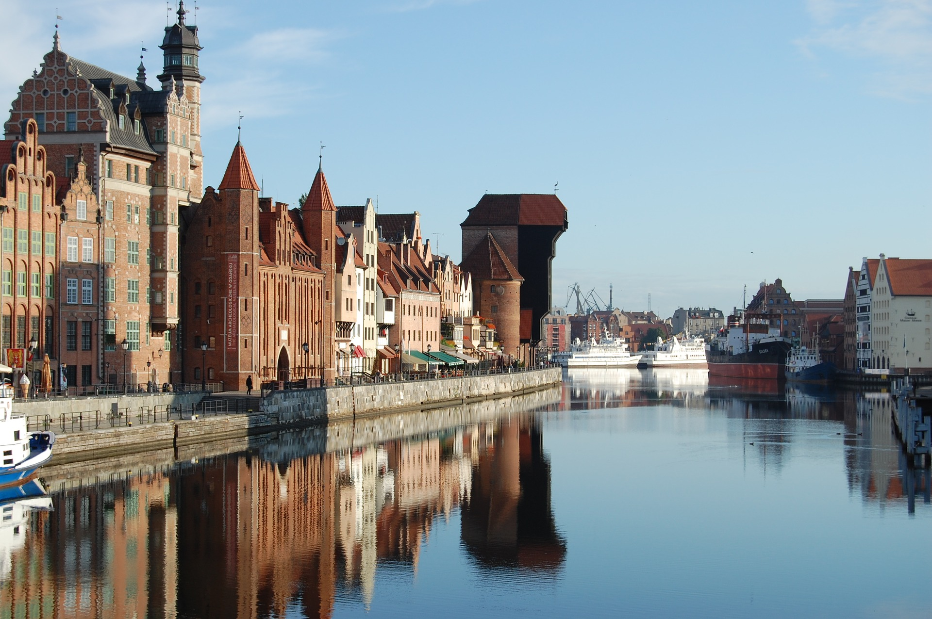 Gdansk Old Town Visit In Poland