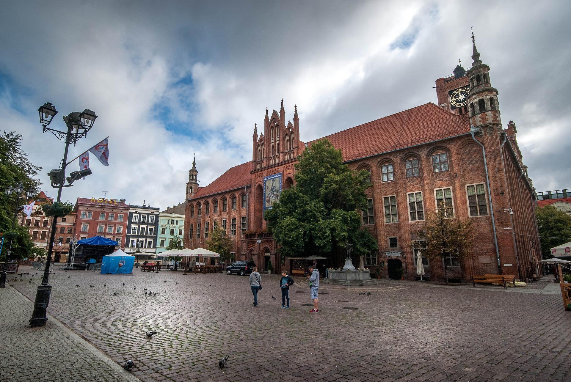 Torun Visit In Poland