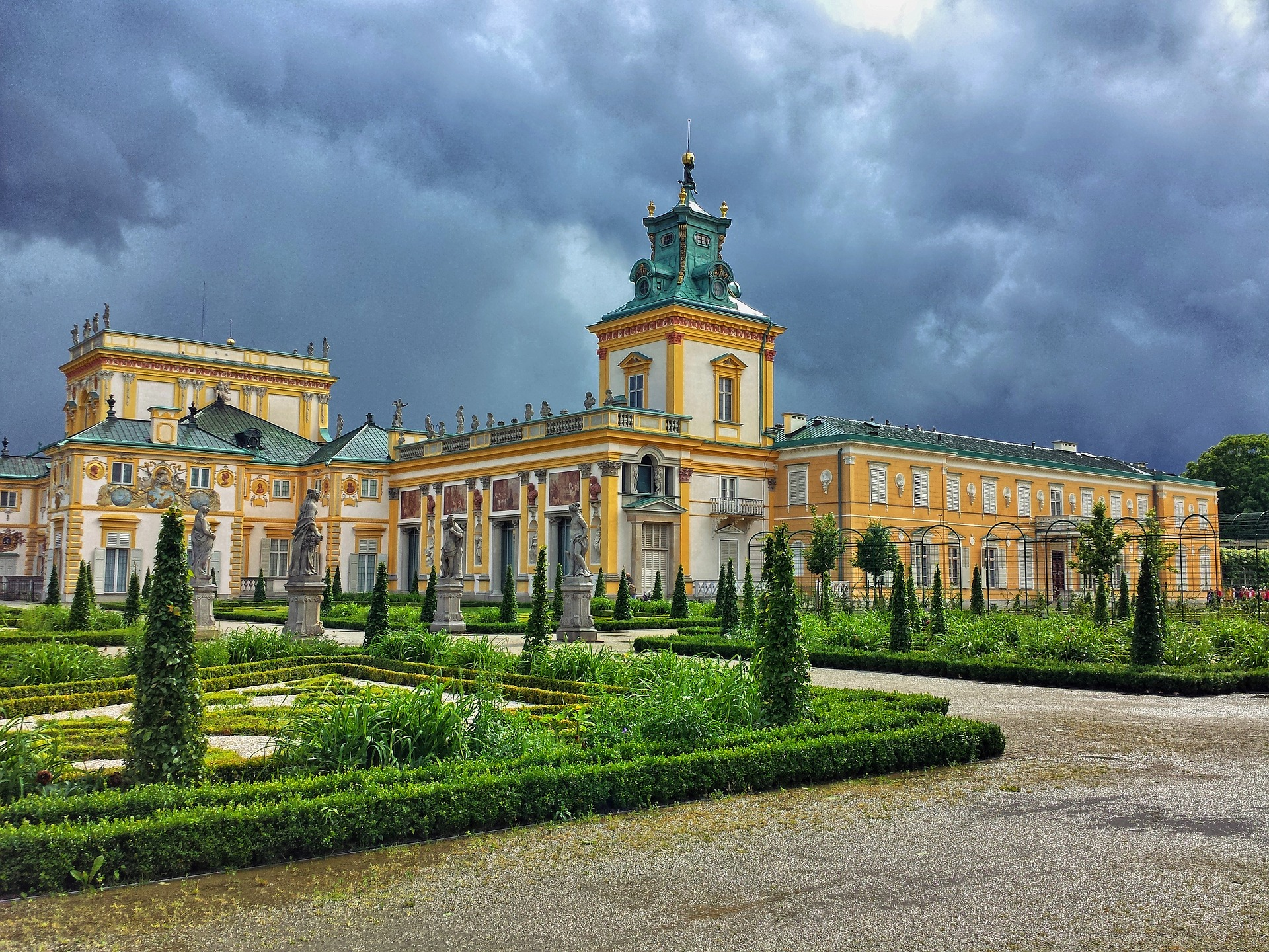 Wilanow Palace Visit In Poland