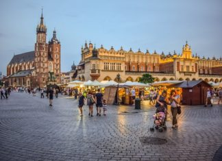 Top must visit historical sites, Krakow Town, Poland