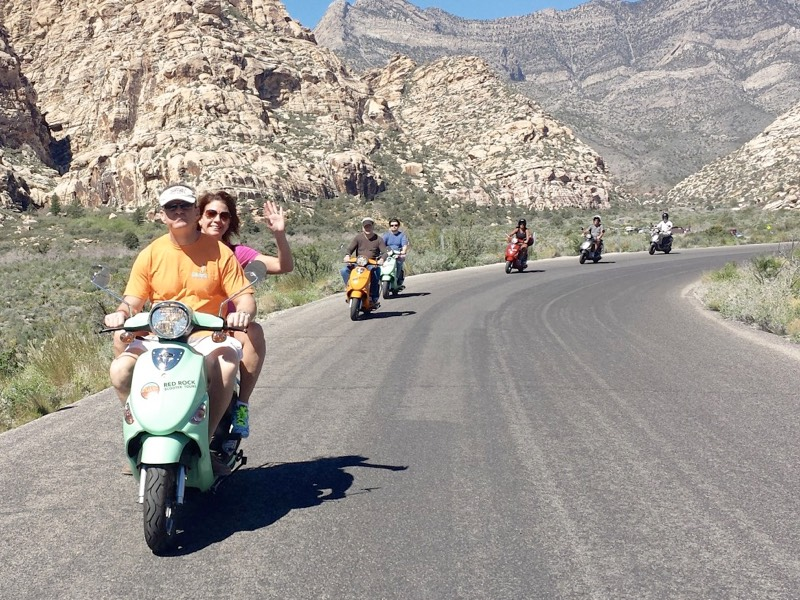 Scooter Tour - Red Rock Canyon