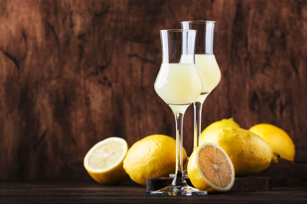 Enjoy delightful dishes with the limoncello
