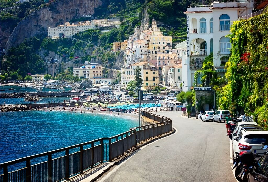 Gorgeous views from the Amalfi Coast Road