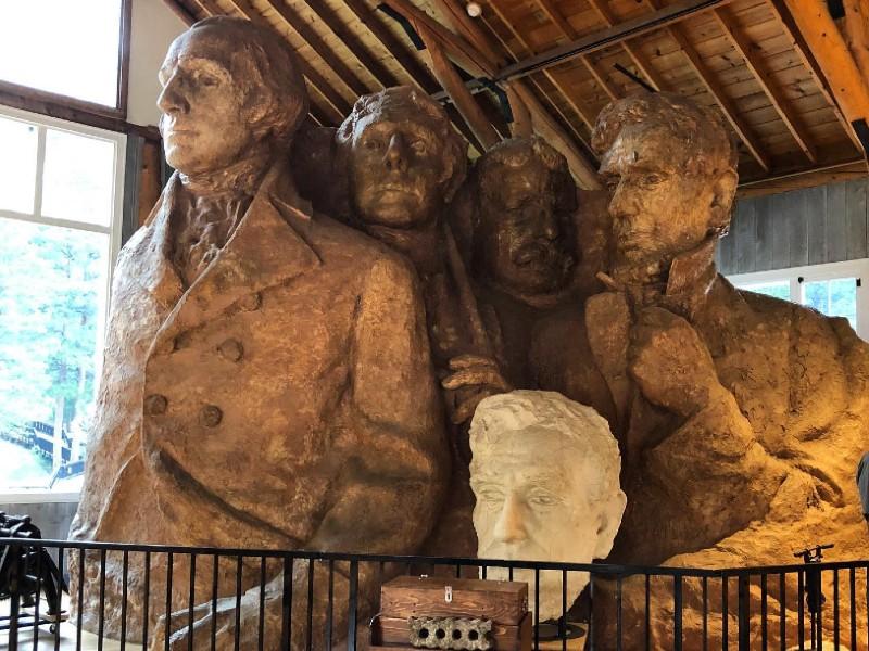 Sculptor's Studio, Mt Rushmore