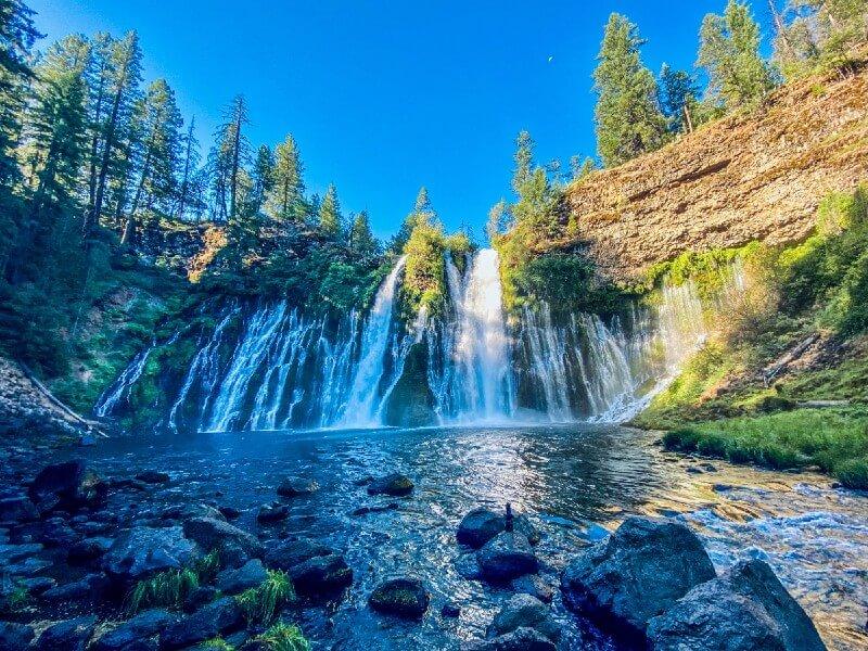 The Epic Burney Falls in California