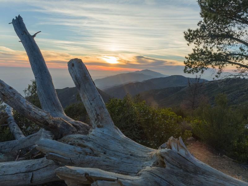 Sunset at Seven Falls Trail, Santa Barbara