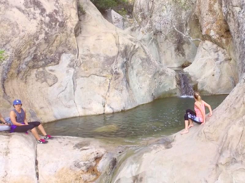 Seven Falls Trail, Santa Barbara, CA