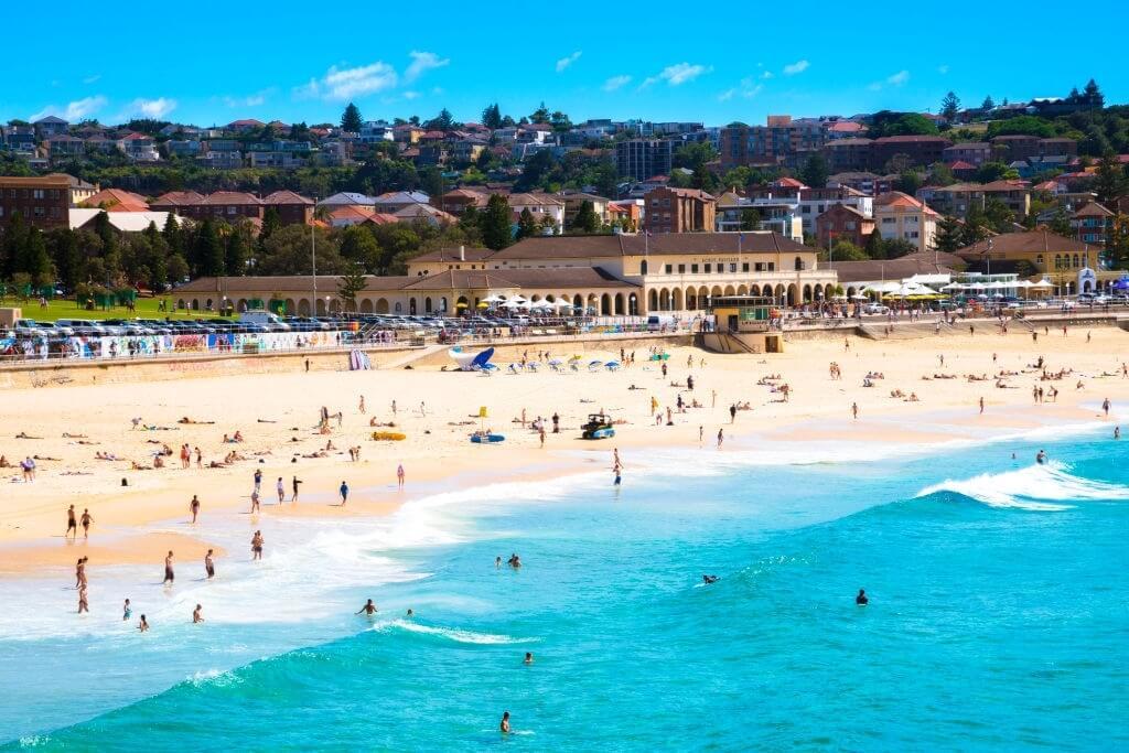 Swim in Bondi Beach